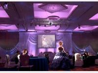ウェディングイメージ「パープルカクテルドレス」