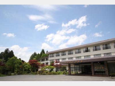 ホテル十和田荘の外観