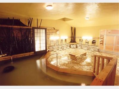 内風呂(満天の風呂)