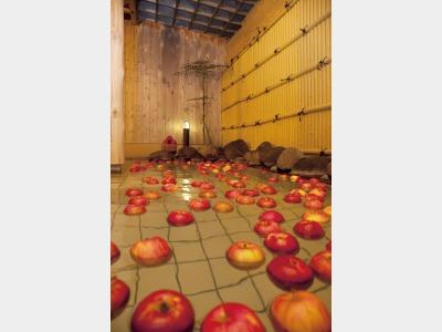 りんご露天風呂