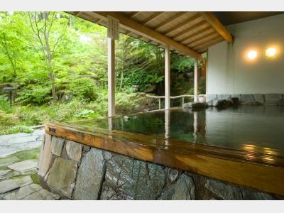 露天風呂イメージ(緑の季節)