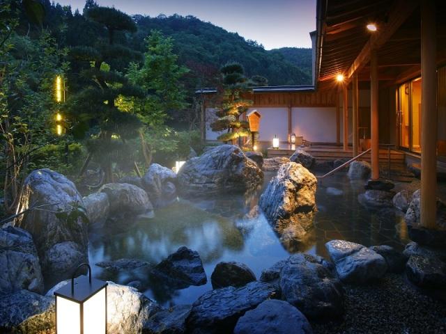 大浴場「喜久の湯」露天風呂
