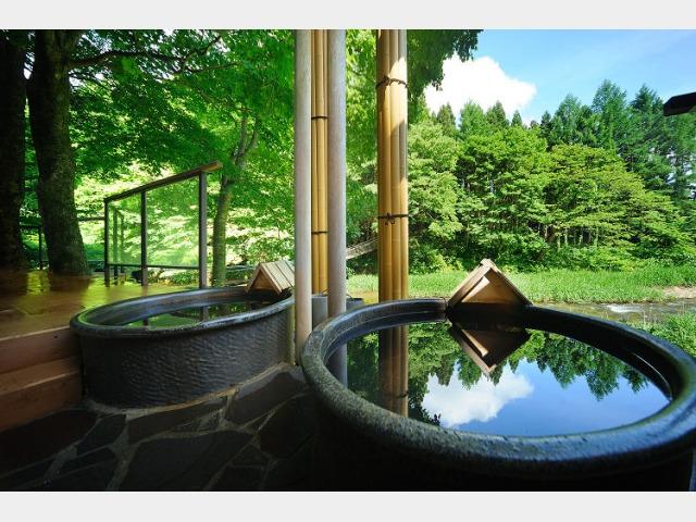 川の湯 陶器露天風呂