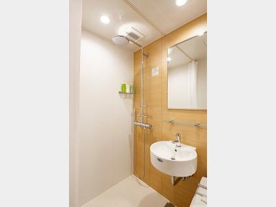 シャワードシングル 浴室