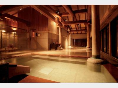 大浴場「名取の御湯」
