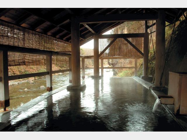 露天風呂(河原の湯)