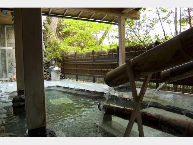 地下1階大浴場【露天風呂】