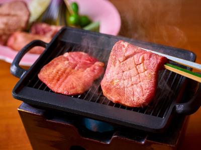 【9/1~11/30】秋の料理フェアイメージ【なでしこ会席】(仙台名物牛タンの食べ比べ)