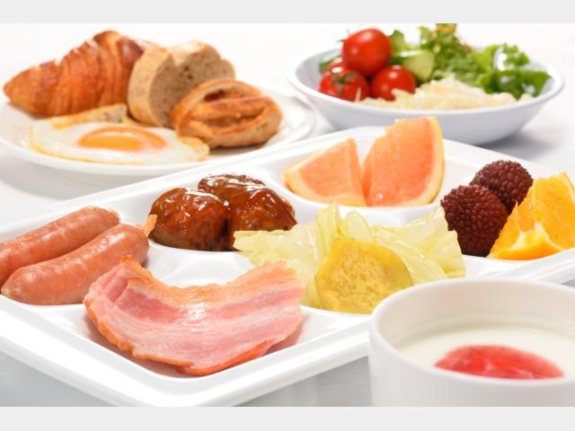 朝食バイキング 洋食メニューイメージ