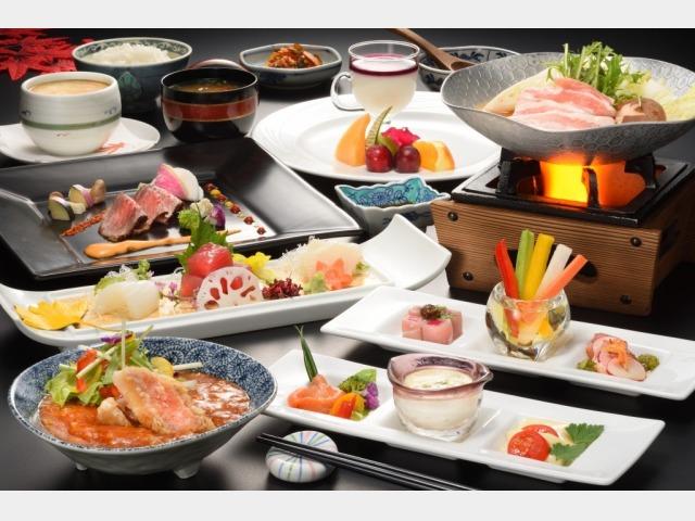 夕食宴会料理イメージ