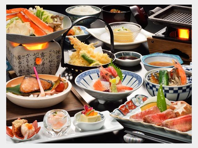 夕食日本料理イメージ