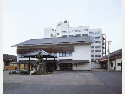 ホテル海山の外観