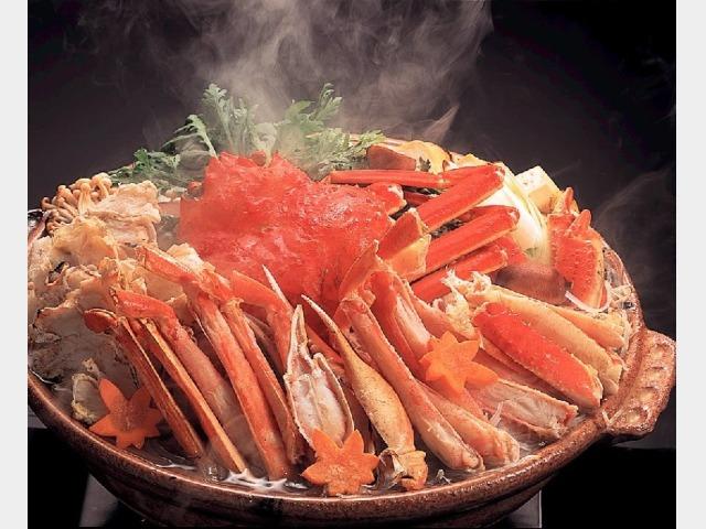 夕食イメージ(かに鍋)