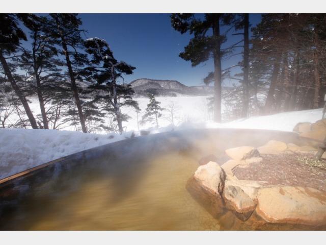 露天風呂(冬・イメージ)