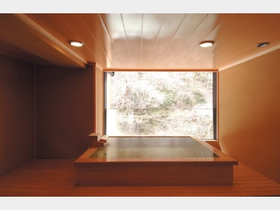 貸切風呂「雪見の湯」