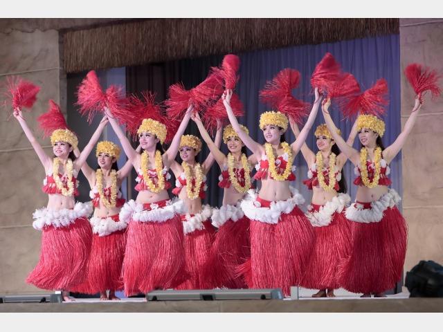 フラーショー(イメージ)ハワイアンズ