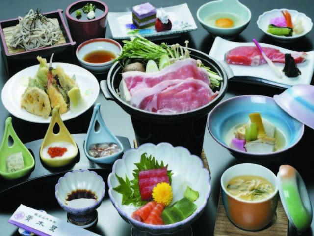 11秋 宿コレクション 夕食一例