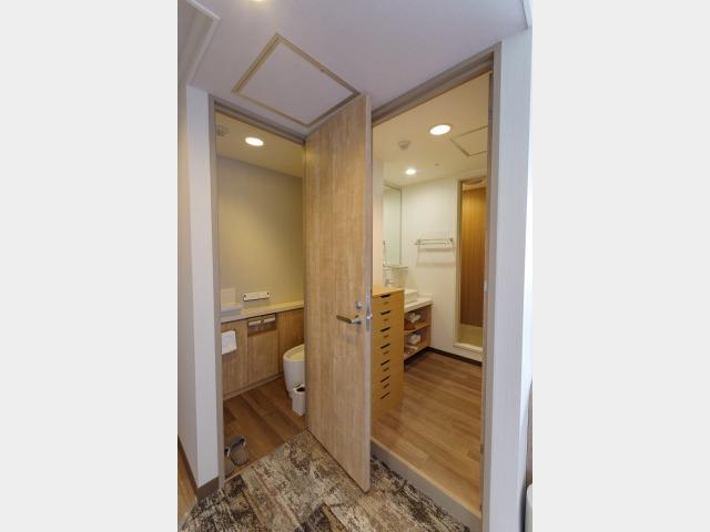 スーペリアルーム トイレ・シャワーセパレート