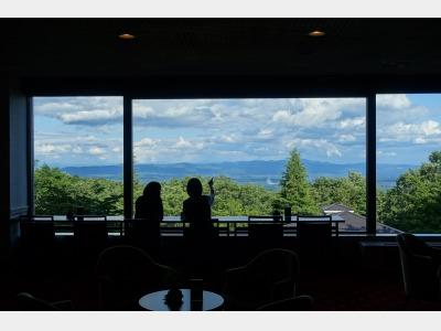 関東平野を見下ろす絶景