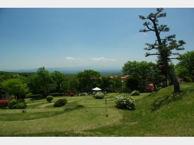 高原のパターゴルフ
