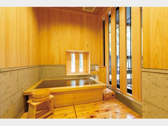 客室内風呂一例