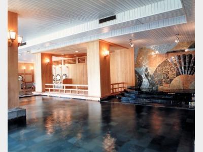 大浴場(大江戸浮世風呂)