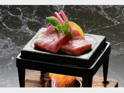 栃木牛石焼き(味覚プラン/一例)