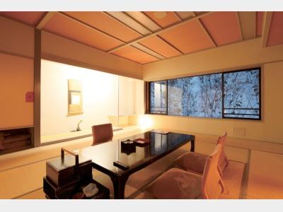 客室一例 15畳+4.5畳