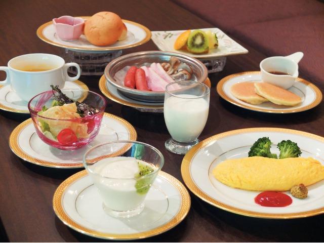 朝食(洋食)一例