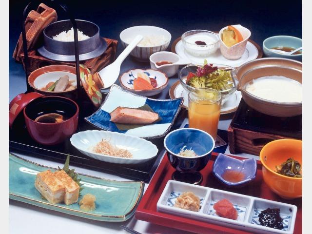 朝食(和食)一例