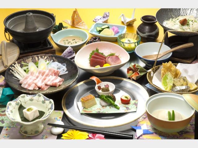 夕食(日光郷土会席料理)イメージ