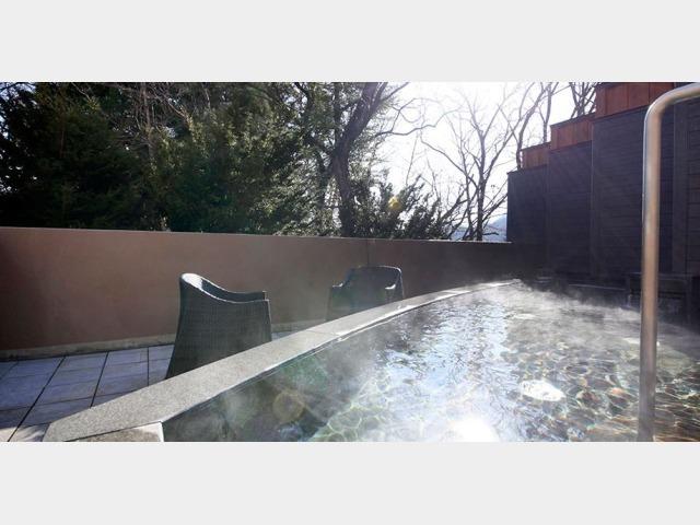 1階 名月の湯 露天風呂