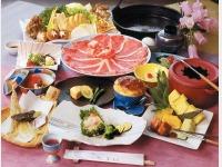 夕食イメージ(鋤鍋すきなべ)