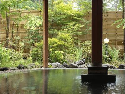 露天風呂 石庭