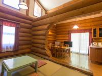 和洋室別棟 ログハウス客室(一例)