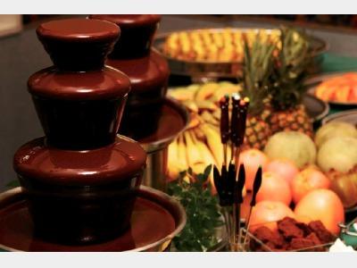夕食バイキングイメージ(チョコレートファウンテン