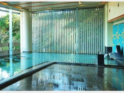 大浴場「楽山の湯」