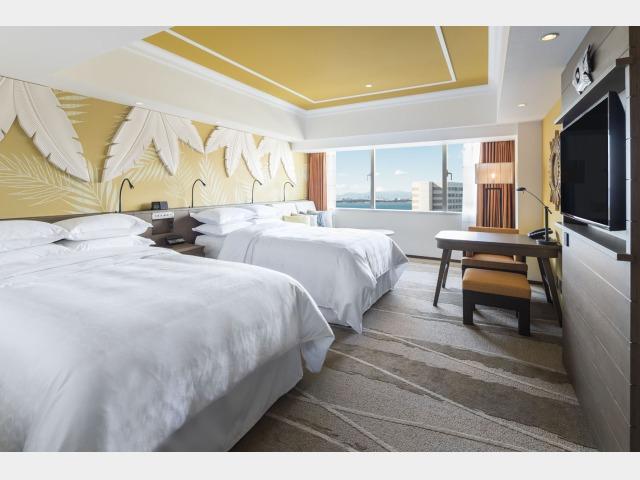 客室一例(パークウイング/カラー・眺望の指定はできません)