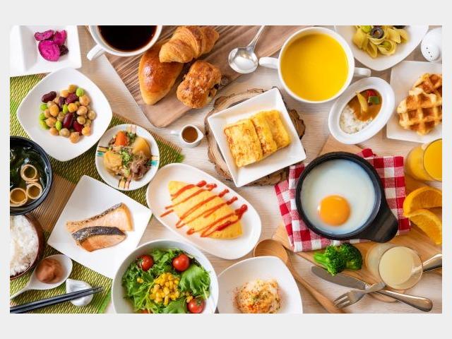朝食バイキングイメージ(フォンタナ)