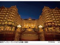 東京ディズニーランドホテル外観(夜景)LP02