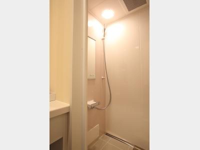 ベーシックルーム(シャワーブース)の一例