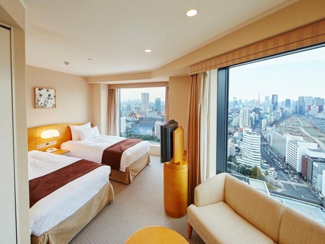 メインタワー 高層階コーナーツイン/客室一例