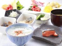 朝食ビュッフェ(和食イメージ)