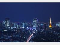 東京タワー方面 夜景
