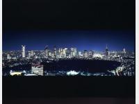 新宿方面 夜景