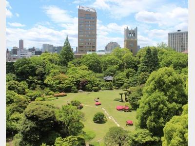 大隈庭園(ホテルより徒歩1分)