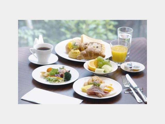 オールデイダイニング「クロスダイン」朝食和洋中ビュッフェ(盛り付けイメージ)