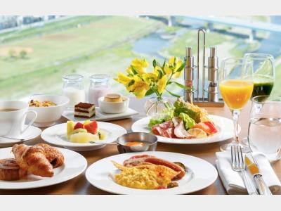 朝食ビュッフェ(盛付イメージ)
