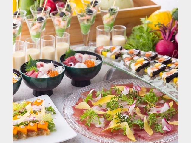 レストラン「フローラ」夕食ビュッフェ(イメージ)