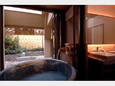 客室専用露天風呂